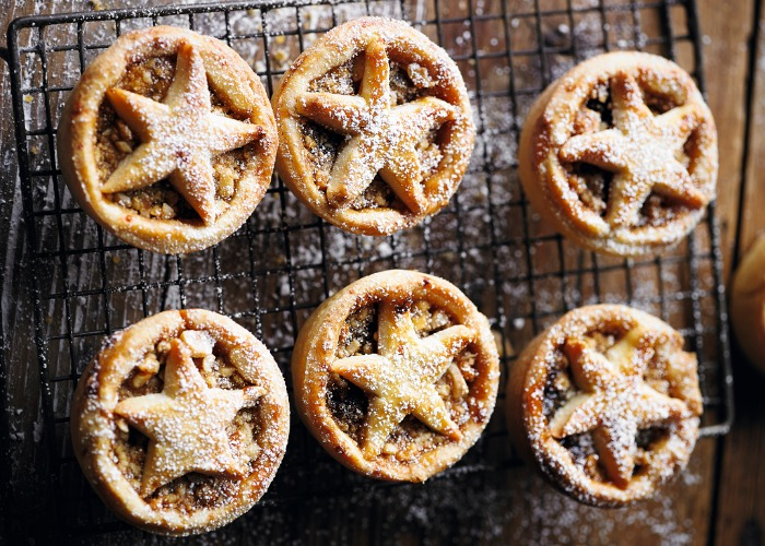 Martha Collison's nut-crusted mince pies recipe