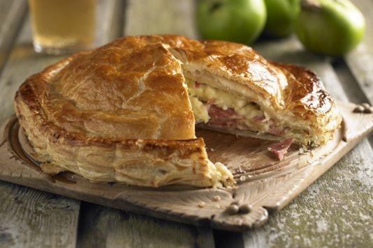Ham and apple pie recipe