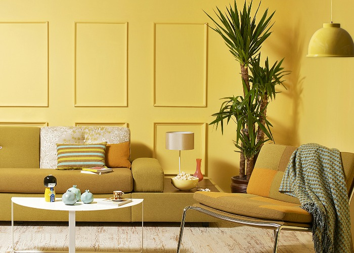 Yellow décor: are you brave enough to try 2019's boldest home trend?