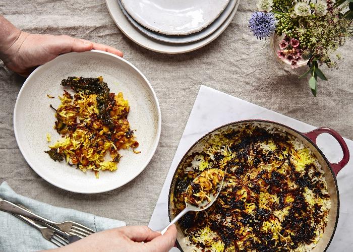 Cavolo nero biryani recipe
