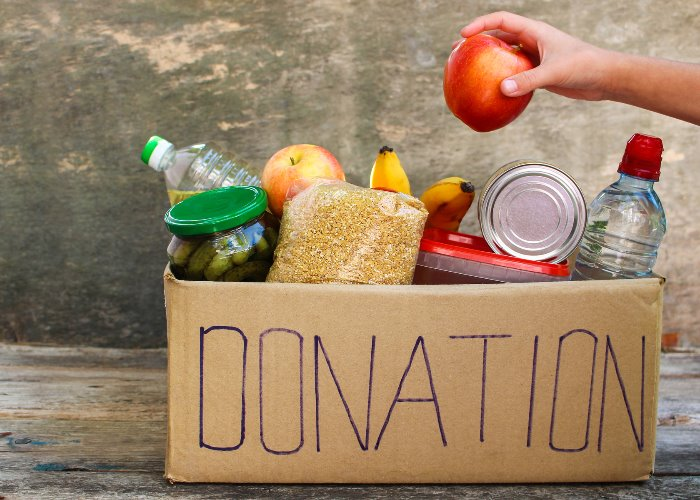 Help provide food to those in need this Christmas
