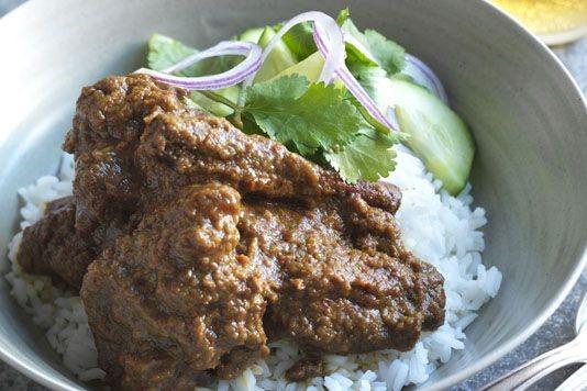 Buffalo rendang recipe