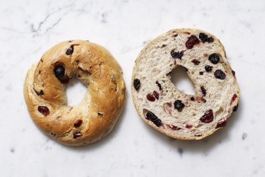 blueberry and cranberry bagels recipe