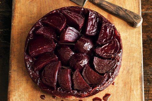 Beetroot tarte tatin recipe