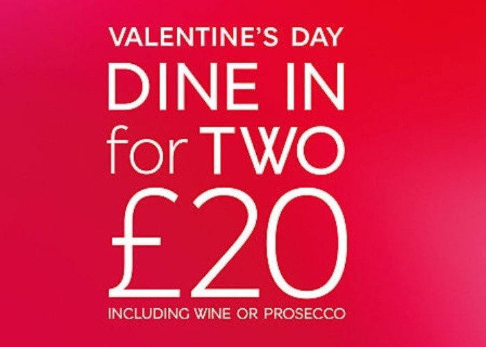 m&s dine in meal deal valentine's day special: what's on offer, Ideas