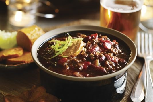 Heston Blumenthal's rich chilli con carne with spiced butter recipe