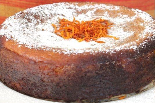 Boiled Orange And Almond Cake Recipe
