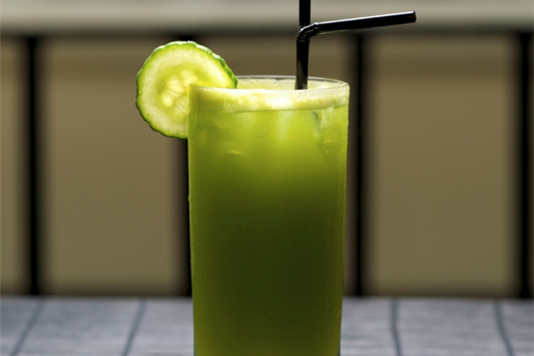 Cucumber and apple cooler recipe