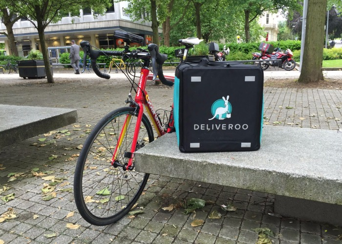 become a deliveroo driver in the uk tax driving licence and how