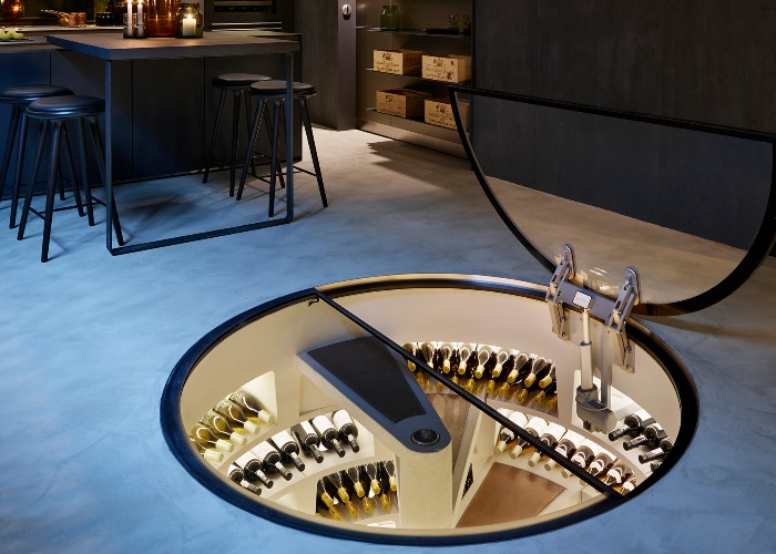 9 Of The Coolest Built In Wine Racks