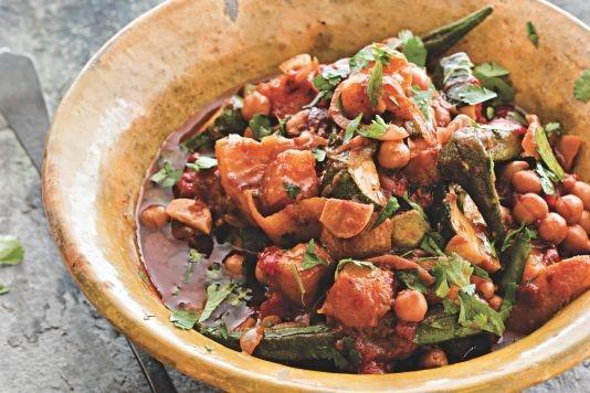 Vegetarian tagine recipe