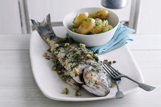 Dermot O'Leary's sea bass recipe