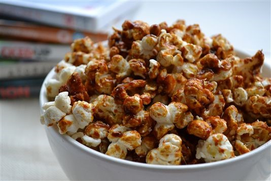 How to make your own toffee popcorn