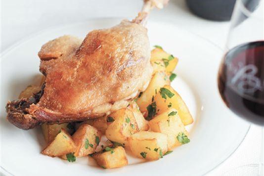 Michel Roux Jr's duck confit recipe