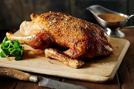 Valentine Warner's duck a l'orange with watercress recipe