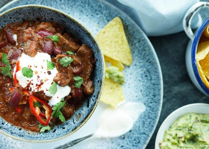 Spicy beef chilli recipe