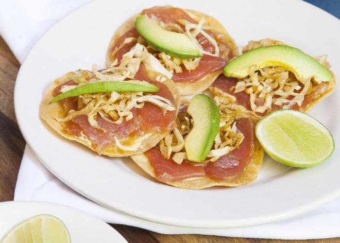Gabriela Cámara's tuna tostadas recipe