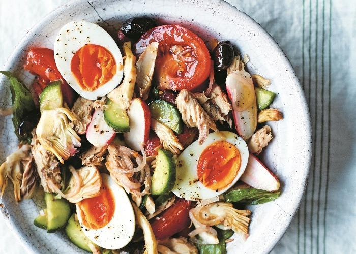 Classic salade Niçoise recipe