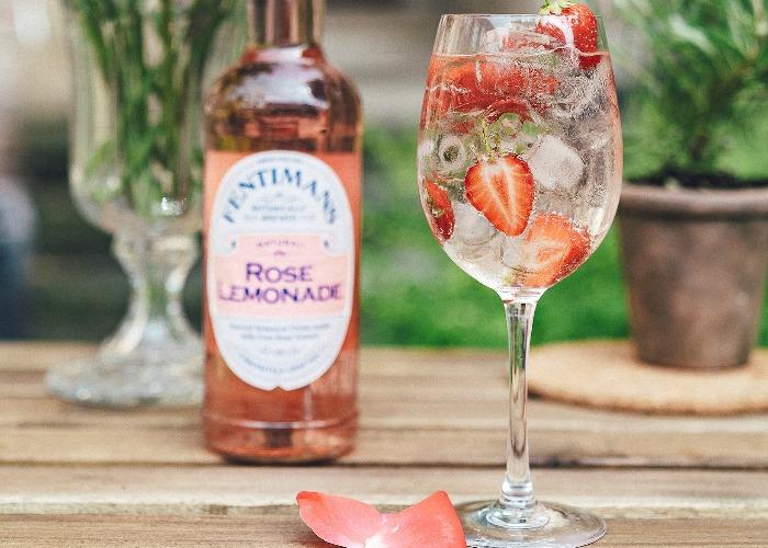 Rose spritz cocktail recipe