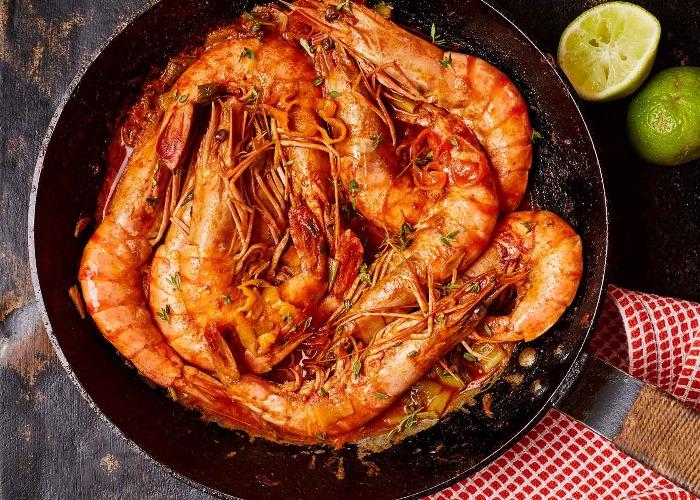 Jamaican pepper shrimp recipe