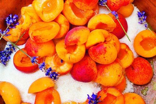 Apricot and lavender jam recipe