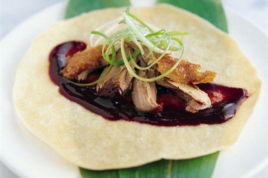 Ken Hom's crispy aromatic duck recipe