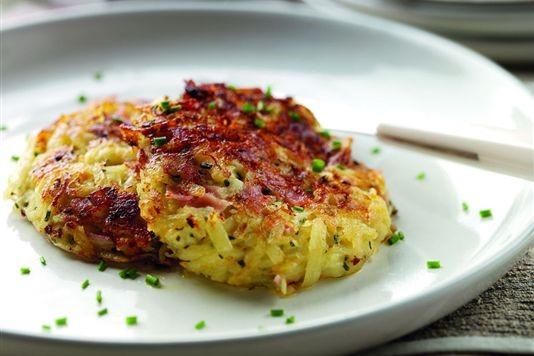 Potato Ham And Bramley Apple Rosti Recipe