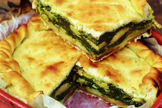 Italian vegetable pie recipe