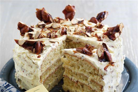 Rachel Allen's almond brittle cake