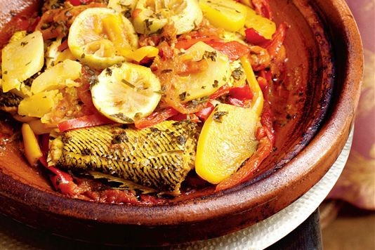 Tagra of fresh sardines with pepper oil recipe