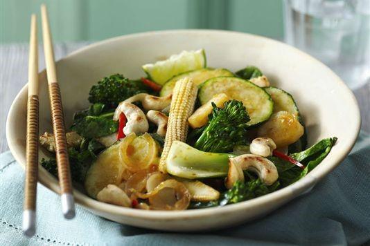 Healthy vegetable stir fry recipe