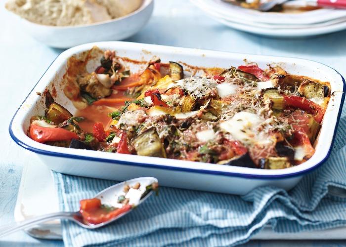 Roasted vegetable bake