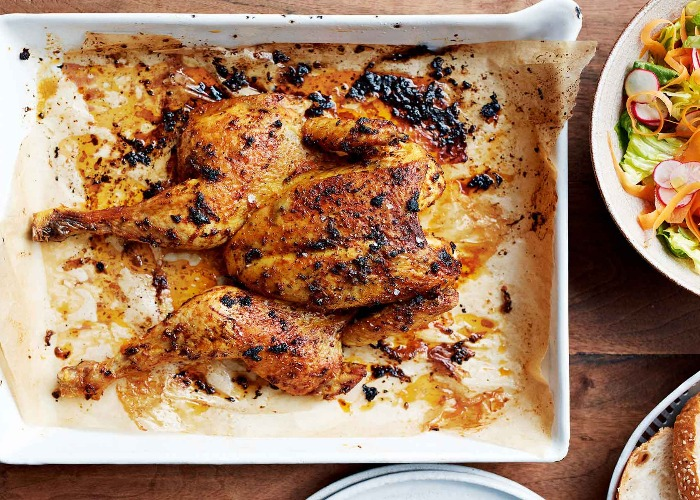 Herb and paprika chicken recipe
