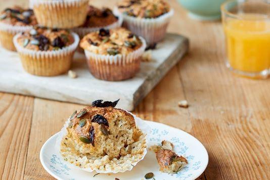 Nadiya Hussain's feta and dill savoury muffins recipe