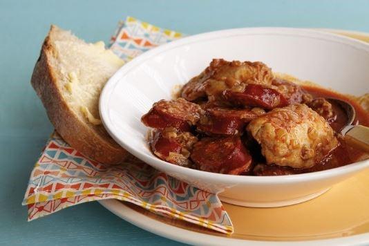 Goan chicken and chorizo stew recipe