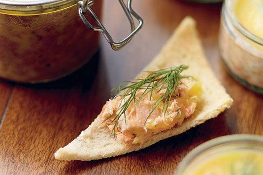 The Hairy Bikers' potted salmon recipe