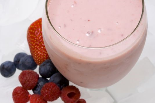 Strawberry power smoothie recipe