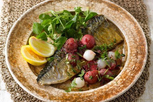 James Martin's mackerel recipe
