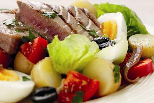 Jean Christophe Novelli's Niçoise salad recipe
