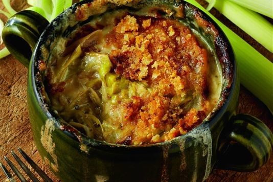 Leek hot pot recipe