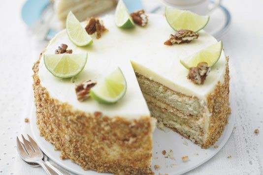 Lorraine Pascale's Mojito Genoese cake recipe