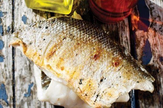 Margarita sea bass recipe