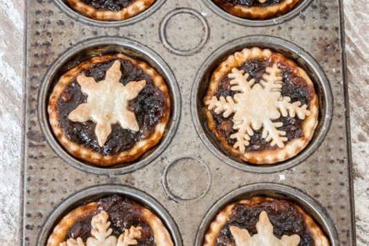 Vegetarian mince pies recipe