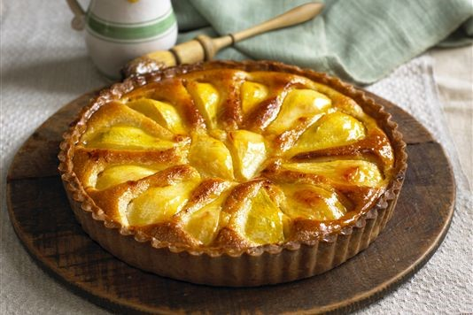Normandy pear tart recipe