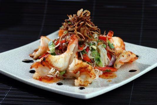 Thai noodle salad recipe