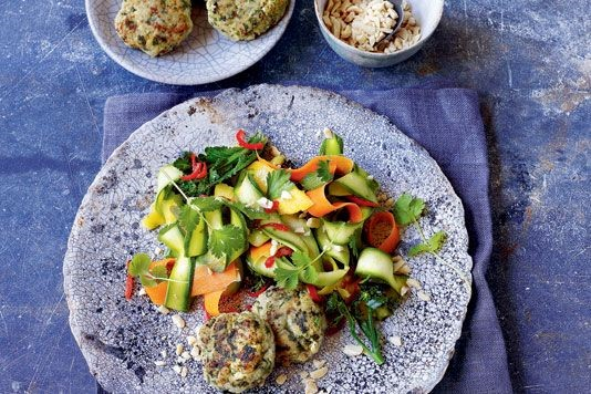 Thai-spiced fishcakes recipe