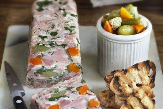 Raymond Blanc's ham hock terrine recipe