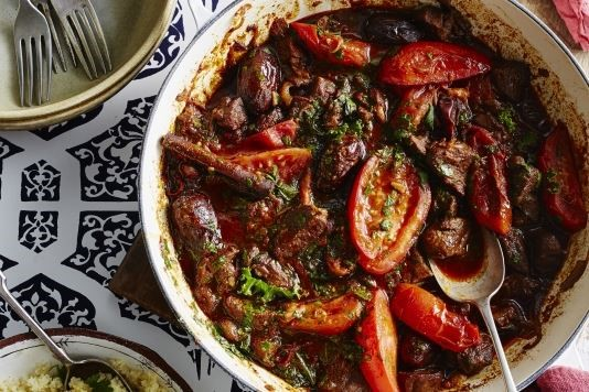 Richly spiced lamb stew recipe