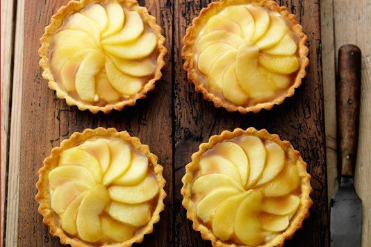 Rick Stein's apple tarts recipe