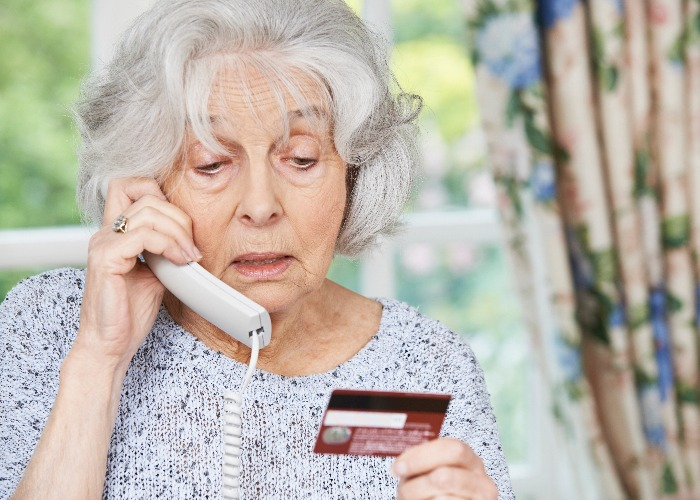 Impersonation scams are a big problem (image: Shutterstock)